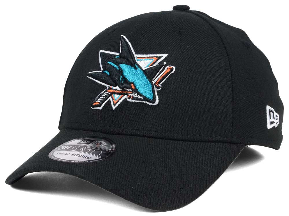 detailed look c5292 aa740 ... best price san jose sharks new era nhl team classic 39thirty cap 79456  73f0d