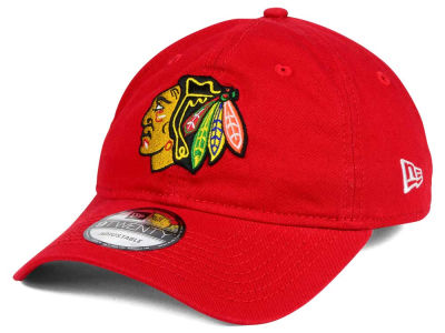 Chicago Blackhawks New Era NHL Relaxed 9TWENTY Strapback Cap