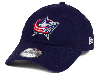 Columbus Blue Jackets New Era NHL Relaxed 9TWENTY Strapback Cap