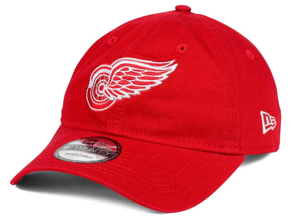big sale 14a58 25c02 ... ireland detroit red wings new era nhl relaxed 9twenty strapback cap  fbb91 7d1d4