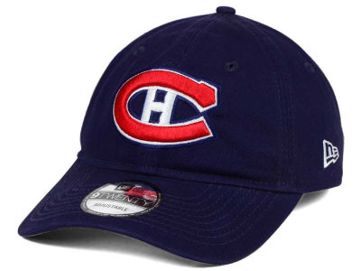 Montreal Canadiens New Era NHL Relaxed 9TWENTY Strapback Cap