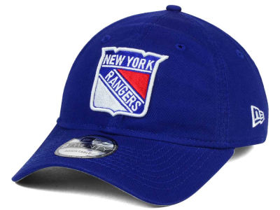New York Rangers New Era NHL Relaxed 9TWENTY Strapback Cap