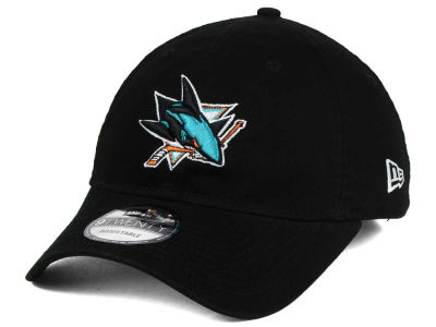 San Jose Sharks New Era NHL Relaxed 9TWENTY Strapback Cap