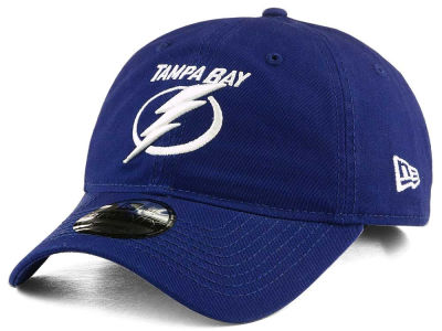 Tampa Bay Lightning New Era NHL Relaxed 9TWENTY Strapback Cap