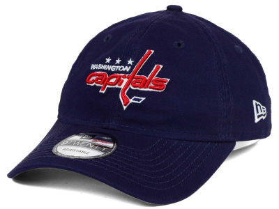 Washington Capitals New Era NHL Relaxed 9TWENTY Strapback Cap