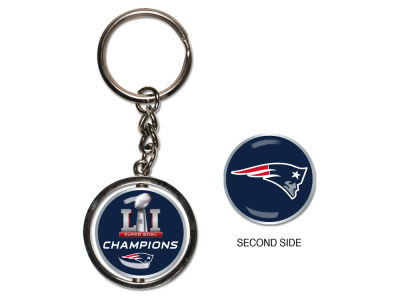 New England Patriots Event Spinning Keychain