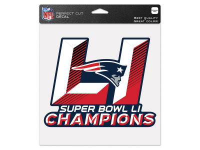New England Patriots Event 8x8 Die Cut Decal