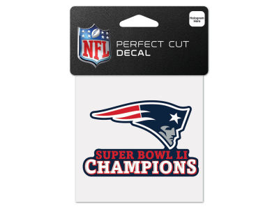 New England Patriots 4x4 Die Cut Decal
