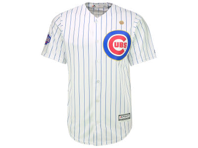 Chicago Cubs Majestic MLB World Series Gold Replica CB Jersey
