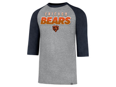 Chicago Bears '47 NFL Men's 3/4 Sleeve Club Raglan T-shirt