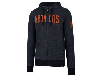 Denver Broncos '47 NFL Men's Top Grain Full Zip Hoodie