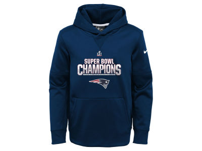 New England Patriots Nike NFL Youth Super Bowl LI Parade Hoodie