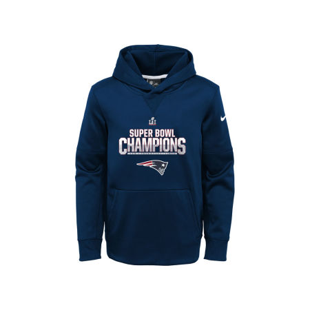 New England Patriots Nike NFL Youth Super Bowl LI Parade Hoodie