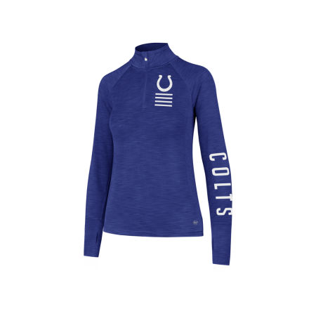 Indianapolis Colts '47 NFL Women's Forward Microlite Shade Quarter Zip Pullover