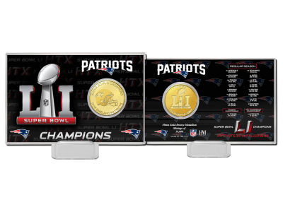 New England Patriots Coin Card-EVENT