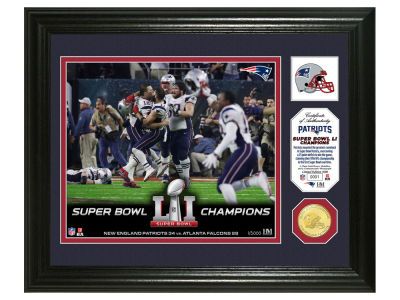New England Patriots Event Photo Mint Coin Banner