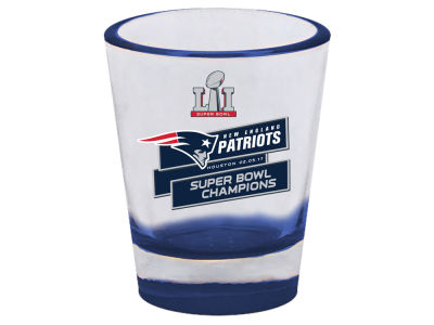 New England Patriots Event 2oz Clear Shot Glass