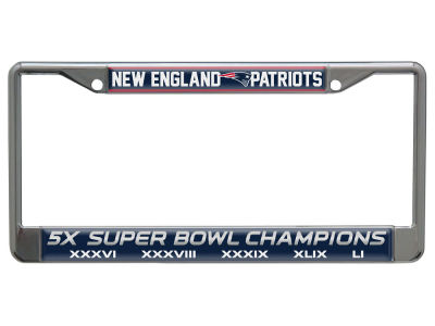 New England Patriots Event Laser Frame
