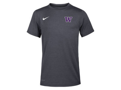 Washington Huskies Nike NCAA Youth Dry Coach Short Sleeve T-Shirt