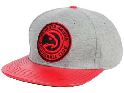Atlanta Hawks Pro Standard NBA Heather Leather Strapback Cap