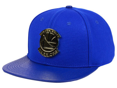 Golden State Warriors Pro Standard NBA Team Metal Strapback Cap