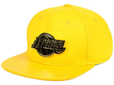 Los Angeles Lakers Pro Standard NBA Acid Denim Strapback Cap