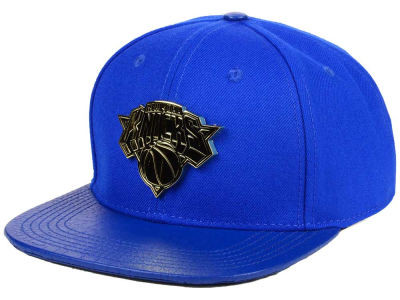 New York Knicks Pro Standard NBA Team Metal Strapback Cap