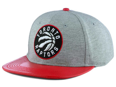 Toronto Raptors Pro Standard NBA Heather Leather Strapback Cap
