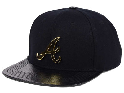 Atlanta Braves Pro Standard MLB Team Metal Strapback Cap