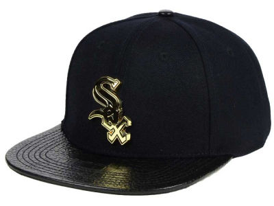 Chicago White Sox Pro Standard MLB Team Metal Strapback Cap