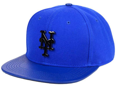 New York Mets Pro Standard MLB Team Metal Strapback Cap