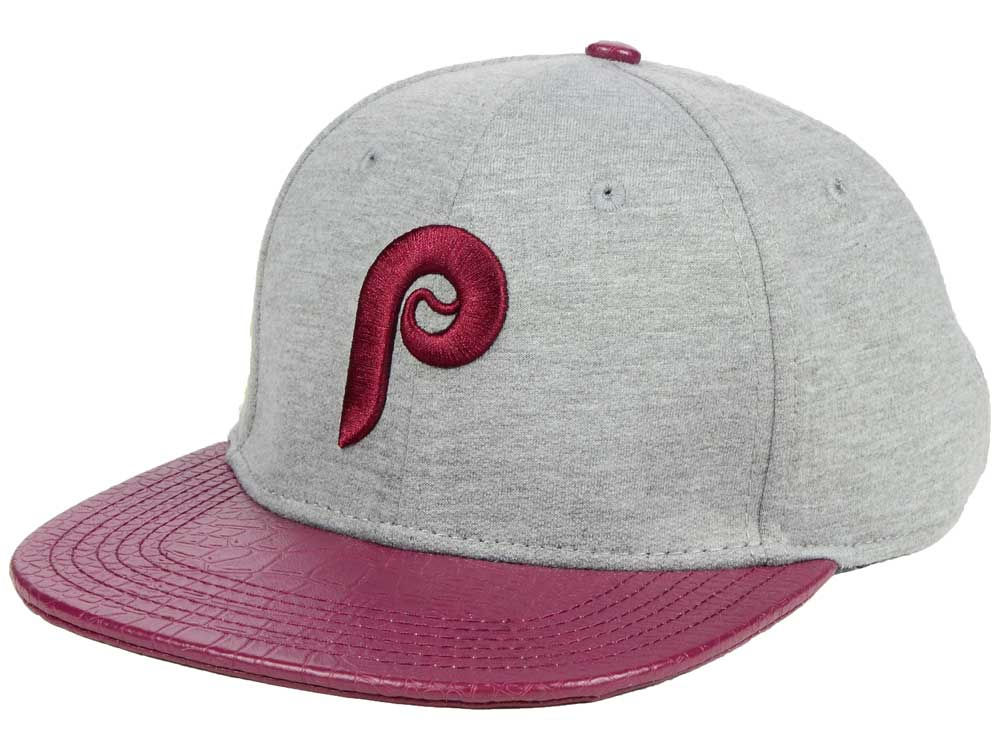 save off 803a2 69f90 Philadelphia Phillies Pro Standard MLB Team Heather Strapback Cap   lids.com