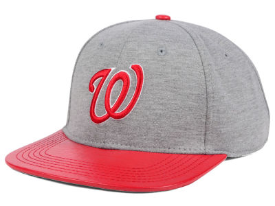 Washington Nationals Pro Standard MLB Team Heather Strapback Cap