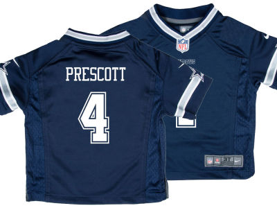 Dallas Cowboys Dak Prescott Nike NFL Toddler Game Jersey