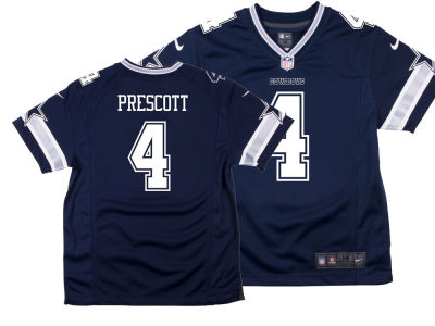 Dallas Cowboys Dak Prescott NFL Kids Game Jersey
