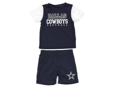 Dallas Cowboys DCM NFL Infant Perkins Short Set