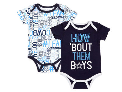 Dallas Cowboys DCM NFL Infant Emerson Creeper Set