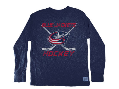 Columbus Blue Jackets NHL Youth Retro Long Sleeve T-Shirt