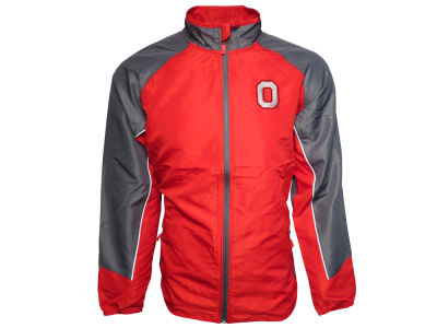 J America NCAA Men's Quarterback Full Zip Jacket