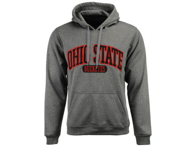 J America NCAA Men's Poly Heathered Hoodie