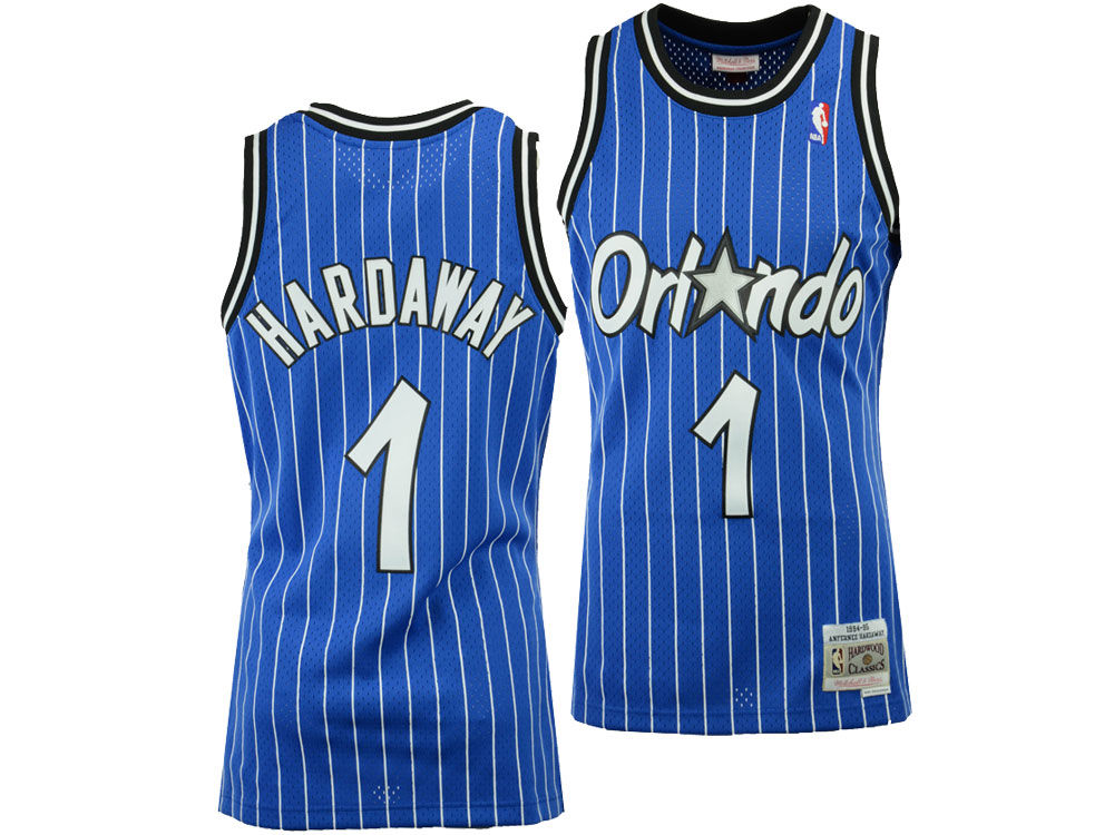 Orlando Magic Penny Hardaway Mitchell   Ness NBA Men s Hardwood ... 1db7095bf