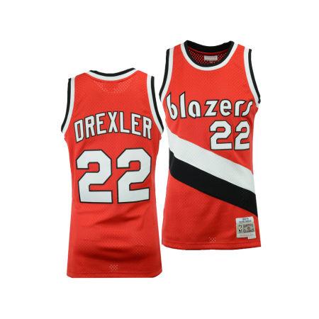 Portland Trail Blazers Clyde Drexler Mitchell & Ness NBA Men's Hardwood Classic Swingman Jersey