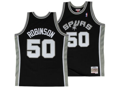 San Antonio Spurs David Robinson Mitchell & Ness NBA Men's Hardwood Classic Swingman Jersey