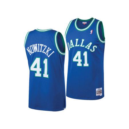 Dallas Mavericks Dirk Nowitzki Mitchell & Ness NBA Men's Hardwood Classic Swingman Jersey