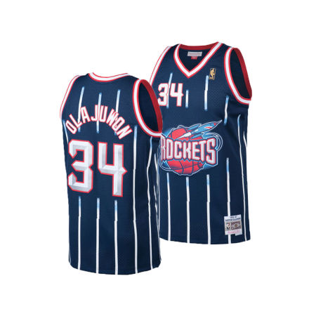 Houston Rockets Hakeem Olajuwon Mitchell & Ness NBA Men's Hardwood Classic Swingman Jersey