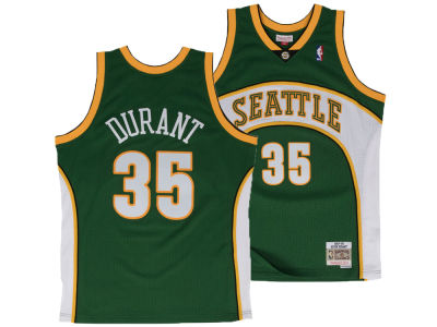 e192b08a8 Seattle SuperSonics Kevin Durant Mitchell   Ness NBA Men s Hardwood Classic  Swingman Jersey