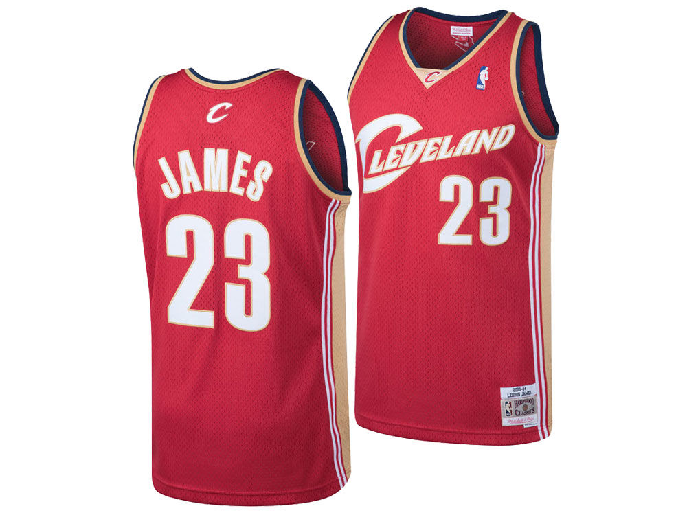 Cleveland Cavaliers LeBron James Mitchell   Ness NBA Men s Hardwood Classic Swingman  Jersey  a36279d89