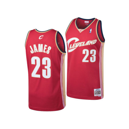 Cleveland Cavaliers LeBron James Mitchell & Ness NBA Men's Hardwood Classic Swingman Jersey