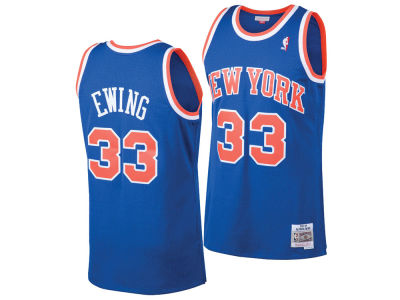 New York Knicks Patrick Ewing Mitchell & Ness NBA Men's Hardwood Classic Swingman Jersey
