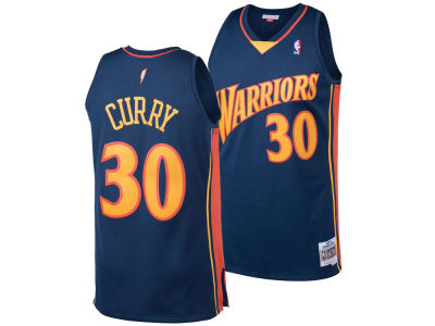 Golden State Warriors Stephen Curry Mitchell & Ness NBA Men's Hardwood Classic Swingman Jersey
